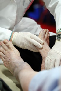 foot health, diabetes, diabetic foot disorder