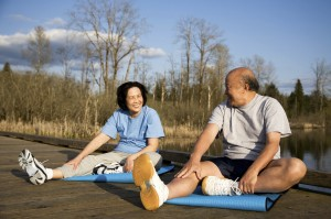 hip replacement surgery, hip pain, tai chi, pain, balance, hip fracture, Virginia Orthopaedic & Spine Specialists