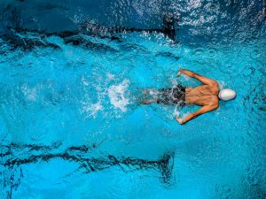 Swimming is one of the best exercises for people dealing with back pain.